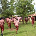 The Water Project: Mukoko Baptist Primary School -  Going To Fetch Water