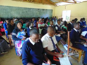 The Water Project:  Students Staff And Parents Attended Training