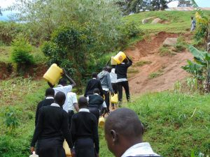 The Water Project:  Time To Head Back To School Carrying Water