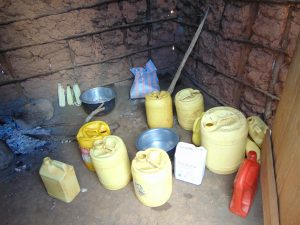 The Water Project:  Water Storage Containers In The Kitchen