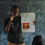The Water Project: Gimariani Secondary School -  Trainer Leading Dental Hygiene Session