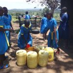 The Water Project: St. Michael Mukongolo Primary School -  Water Storage At School