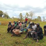 The Water Project: Bumavi Community, Joseph Njajula Spring -  Discussing Solar Disinfection Method Of Treating Water