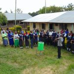 The Water Project: Gimariani Secondary School -  Handwashing Demonstration