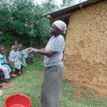 The Water Project: Ebutindi Community, Tondolo Spring -  Handwashing Practice