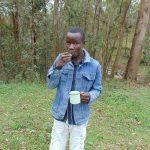 The Water Project: Bumavi Community, Joseph Njajula Spring -  Toothbrushing Volunteer