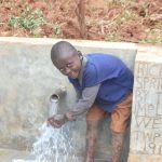 The Water Project: Shisere Community, Richard Okanga Spring -  Smiles At The Spring