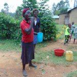 The Water Project: Ebutindi Community, Tondolo Spring -  Toothbrushing Volunteer