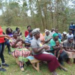 The Water Project: Bumavi Community, Joseph Njajula Spring -  Handwashing Demonstration