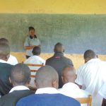 The Water Project: Kinu Friends Secondary School -  Students In Class