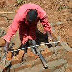 The Water Project: Shisere Community, Richard Okanga Spring -  Fitting Of The Discharge Pipe