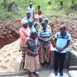 The Water Project: Bumavi Community, Joseph Njajula Spring -  Site Management Training At The Spring