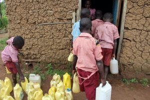 The Water Project:  Students Bringing Water To The School Cook