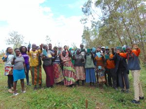 The Water Project:  Happy Faces After Completing Training