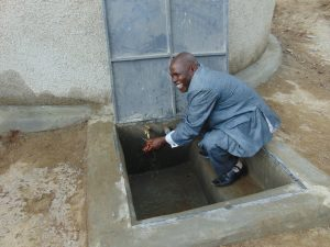 The Water Project:  School Administrator Pleased With The Tank
