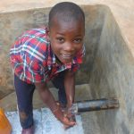 The Water Project: Shisere Community, Richard Okanga Spring -  Handwashing At The Spring