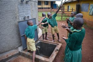 The Water Project:  Celebrating Running Water From The Rain Tank
