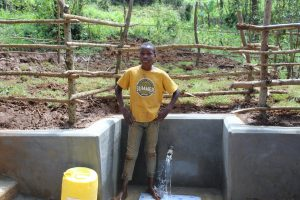 The Water Project:  Standing Proud With The Spring