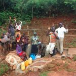 The Water Project: Shisere Community, Richard Okanga Spring -  Celebrating The Spring