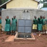 The Water Project: Friends School Mutaho Primary -  Happy Faces At The Rain Tank