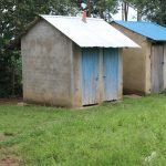 The Water Project: Sawawa Secondary School -  Girls Latrines