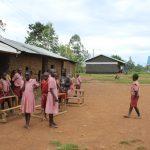 The Water Project: Mukoko Baptist Primary School -  Students On Break