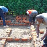 The Water Project: Gimariani Secondary School -  Latrine Construction