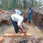 The Water Project: Bumavi Community, Joseph Njajula Spring -  Brick Works