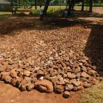 The Water Project: Friends School Mutaho Primary -  Stone Rain Tank Foundation