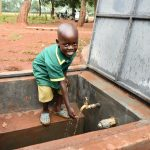 The Water Project: Friends School Mutaho Primary -  Clean Water At The Turn Of A Tap