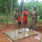 The Water Project: Shisere Community, Richard Okanga Spring -  Proud New Owners Of A Sanitation Platform