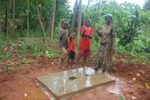 The Water Project:  Proud New Owners Of A Sanitation Platform
