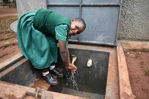 The Water Project:  Washing Hands At The New Rain Tank