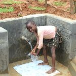 The Water Project: Ebutindi Community, Tondolo Spring -  All Ages Appreciate Clean Water