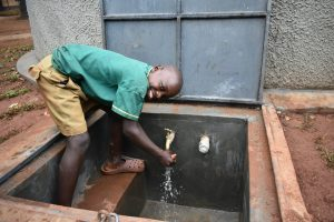 The Water Project:  Washing Hands At The New Water Tank