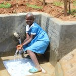 The Water Project: Ebutindi Community, Tondolo Spring -  Happy For Clean Water