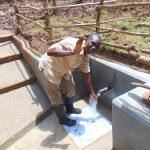The Water Project: Bumavi Community, Joseph Njajula Spring -  Happy Spring User