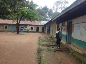 The Water Project:  Classrooms With Water Filter In Background