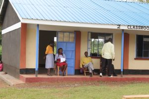 The Water Project:  Staff Outside The Staffroom