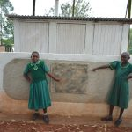 The Water Project: Friends School Mutaho Primary -  Girls At Their Vip Latrines