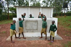 The Water Project:  Boys At Their Vip Latrines
