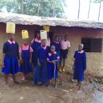 The Water Project: Bulukhombe Primary School -  Students Delivering Water To The Kitchen