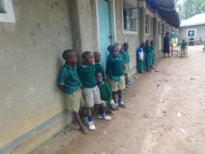The Water Project:  Pupils Outside Their Classrooms