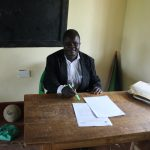 The Water Project: Mukoko Baptist Primary School -  Teacher Mr Patrick Ashikuku