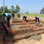 The Water Project: Gimariani Secondary School -  Latrine Block Outline