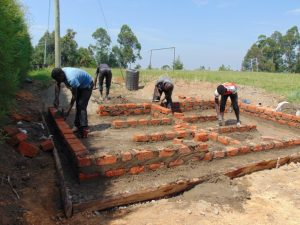 The Water Project:  Latrine Block Outline