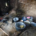 The Water Project: Bulukhombe Primary School -  Dishes And Cook Stove Inside The Kitchen