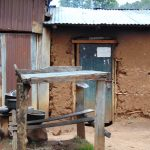 The Water Project: Kinu Friends Secondary School -  Dishrack Outside The Kitchen