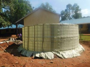 The Water Project:  Tarps Laid For Cement Work