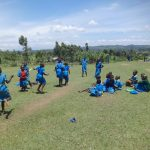 The Water Project: St. Michael Mukongolo Primary School -  Students On The Playground